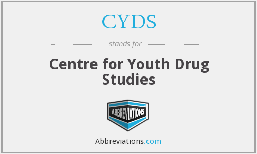 CYDS - Centre for Youth Drug Studies