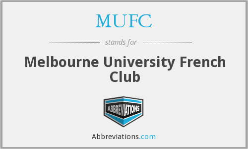 MUFC - Melbourne University French Club