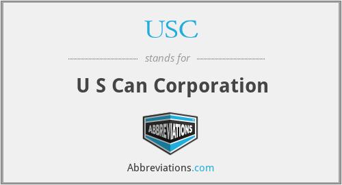 USC - U S Can Corporation