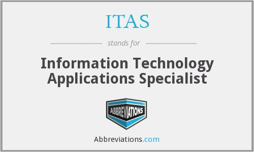 ITAS - Information Technology Applications Specialist