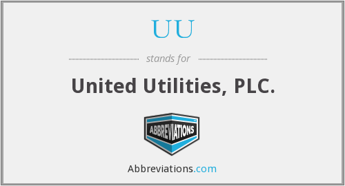 UU - United Utilities, PLC.