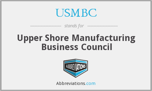 USMBC - Upper Shore Manufacturing Business Council