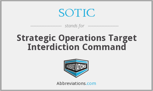 What does SOTIC stand for?