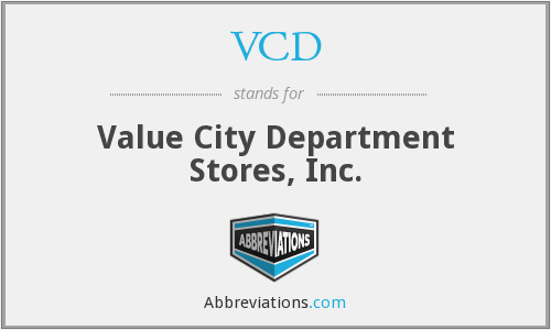 VCD - Value City Department Stores, Inc.