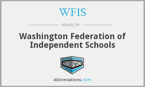 WFIS - Washington Federation of Independent Schools