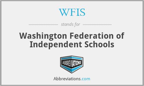 WFIS - Washington Federation of Independent Schools