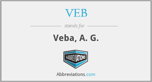 VEB - Veba, A. G.