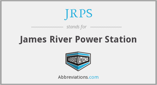 JRPS - James River Power Station