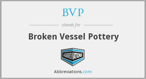 BVP - Broken Vessel Pottery