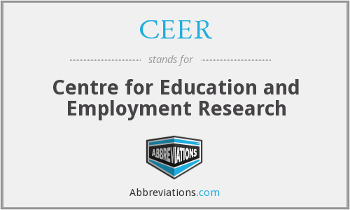 CEER - Centre for Education and Employment Research