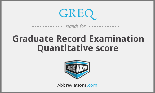 graduate record examinations quantitative test Graduate records examination subject exams (gre) the general test measures verbal, quantitative, and analytical skills that have acquired over a long period of time and that are not related.