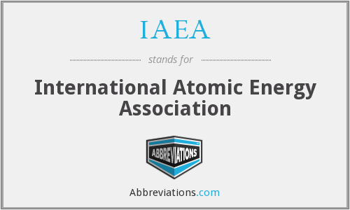 IAEA - International Atomic Energy Association