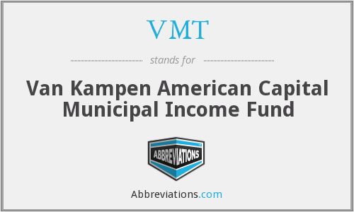 VMT - Van Kampen American Capital Municipal Income Fund