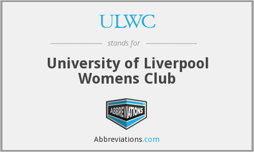 ULWC - University of Liverpool Womens Club