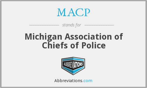 MACP - Michigan Association of Chiefs of Police