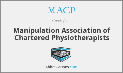 MACP - Manipulation Association of Chartered Physiotherapists