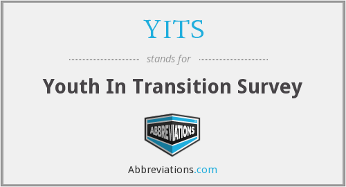 YITS - Youth In Transition Survey