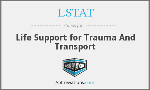 LSTAT - Life Support for Trauma And Transport