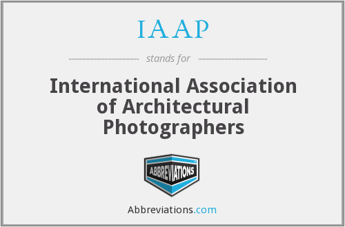 IAAP - International Association of Architectural Photographers