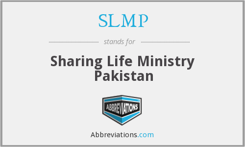 SLMP - Sharing Life Ministry Pakistan