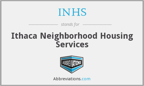 INHS - Ithaca Neighborhood Housing Services