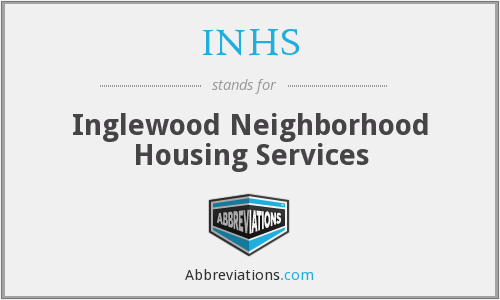 INHS - Inglewood Neighborhood Housing Services