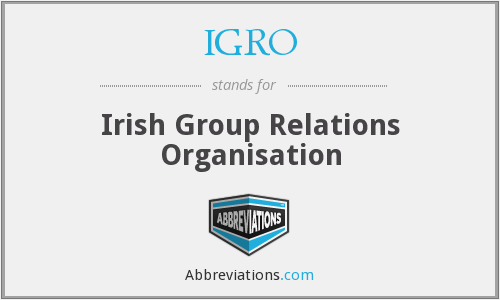 What does IGRO stand for?