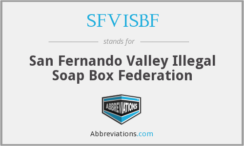 What does SFVISBF stand for?