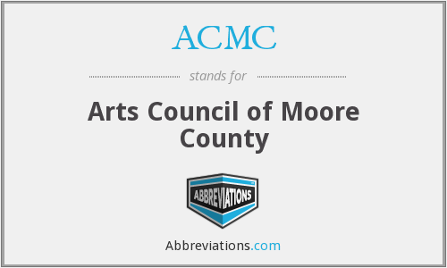 ACMC - Arts Council of Moore County