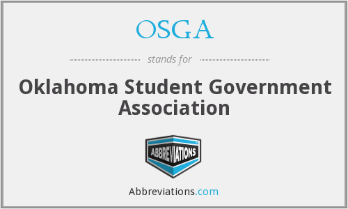 OSGA - Oklahoma Student Government Association