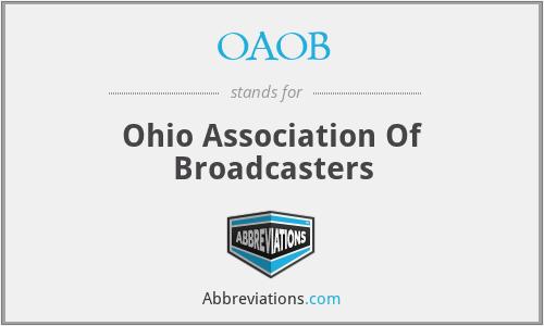 OAOB - Ohio Association Of Broadcasters