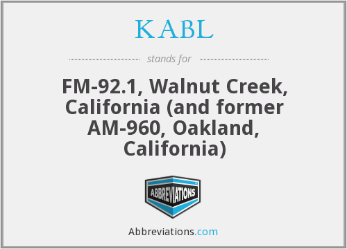 What does KABL stand for?