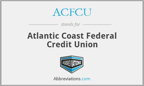 ACFCU - Atlantic Coast Federal Credit Union