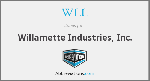 WLL - Willamette Industries, Inc.