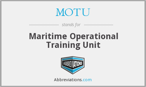 MOTU - Maritime Operational Training Unit