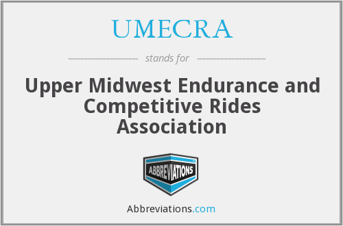 UMECRA - Upper Midwest Endurance and Competitive Rides Association