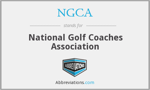 NGCA - National Golf Coaches Association