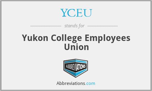 YCEU - Yukon College Employees Union