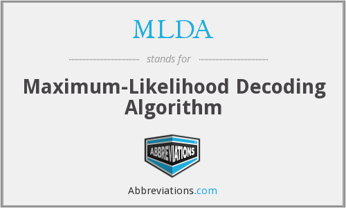 What does MLDA stand for?