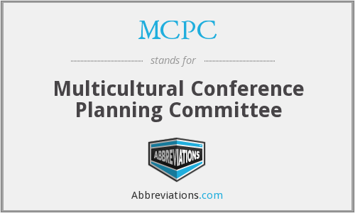 MCPC - Multicultural Conference Planning Committee