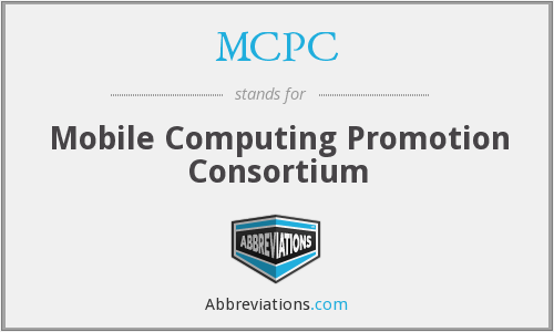 MCPC - Mobile Computing Promotion Consortium