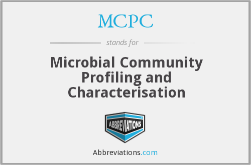 MCPC - Microbial Community Profiling and Characterisation