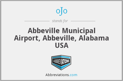 0J0 - Abbeville Municipal Airport, Abbeville, Alabama USA