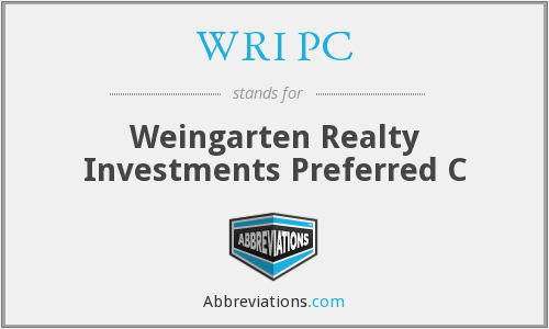 What does WRI PC stand for?