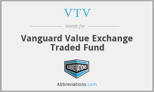 VTV - Vanguard Value Exchange Traded Fund