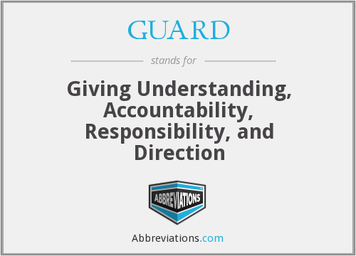 What does GUARD stand for?