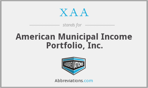 What does XAA stand for?