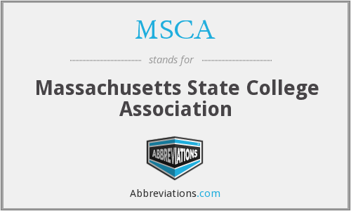 MSCA - Massachusetts State College Association
