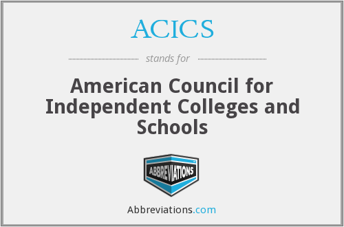 ACICS - American Council for Independent Colleges and Schools