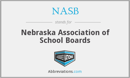 NASB - Nebraska Association of School Boards